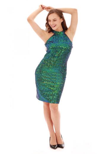 6ixty8ight Elbise Yeşil